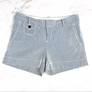Banana Republic Seersucker Flat Front Shorts